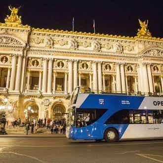 Visite en bus Open Tour : Paris de nuit